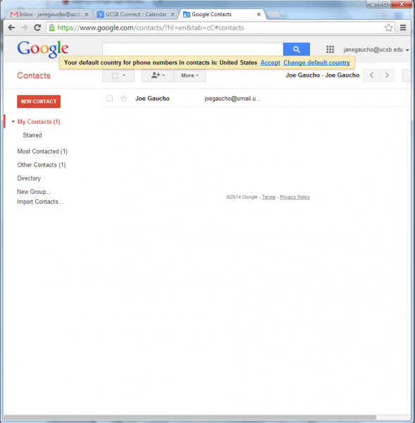 Accessing email through the Google Web App (Gmail web interface