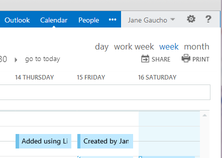 How do I view my own calendar? | Connect :: Communication